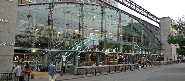 Réservation taxi Brie Comte Robert - gare Montparnasse